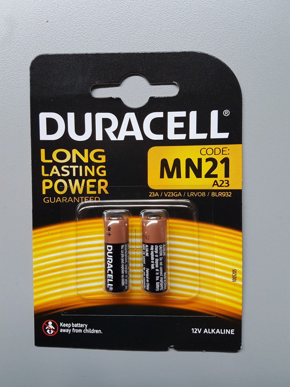 Duracell batterijen MN21 Duracell batterijen MN21