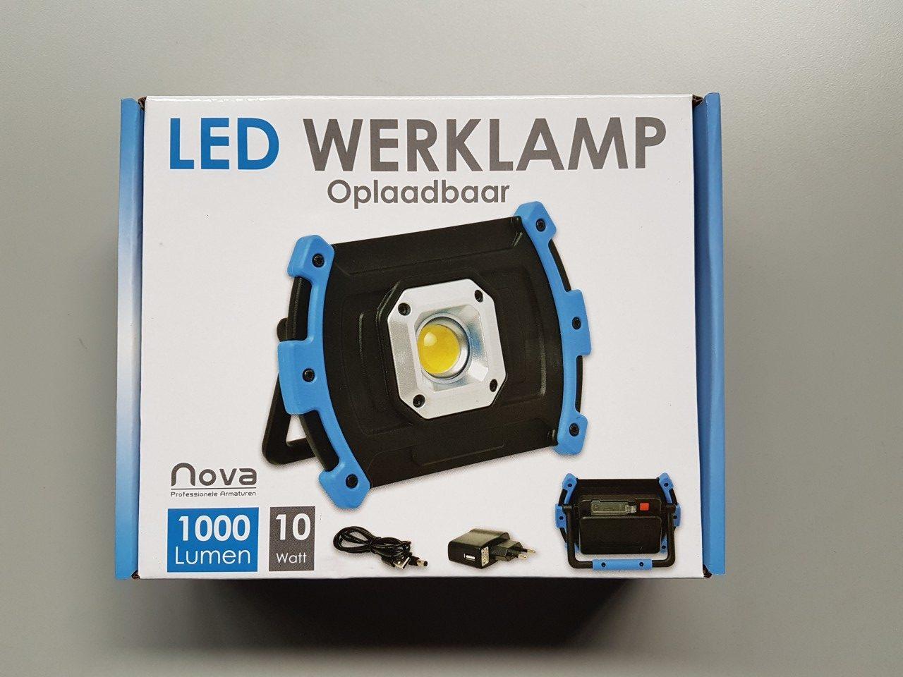 Led werklamp