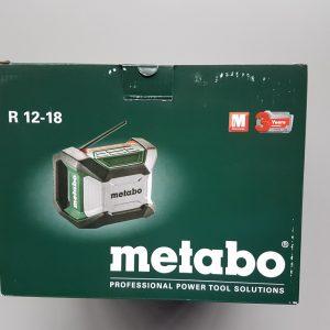 Metabo bouwradio