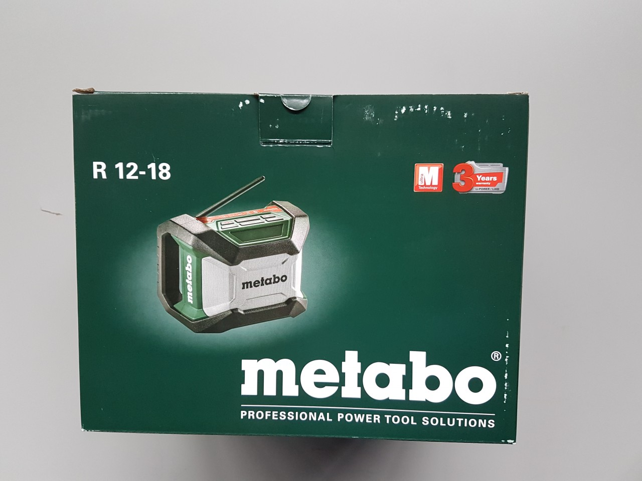 Metabo bouwradio
