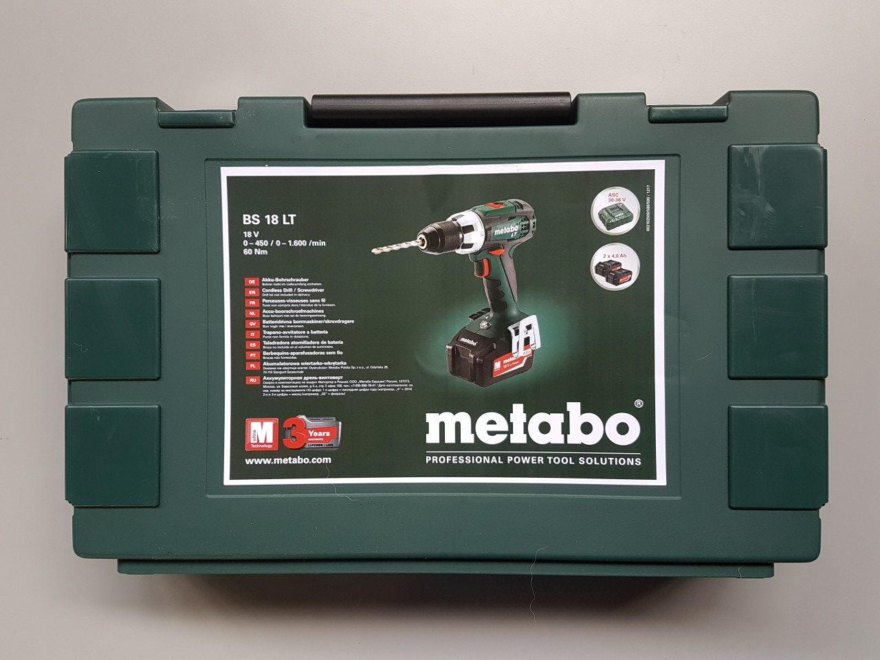 Metabo accuboormachine Metabo accuboormachine