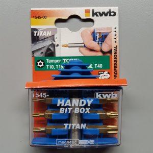 KWB torx bitset