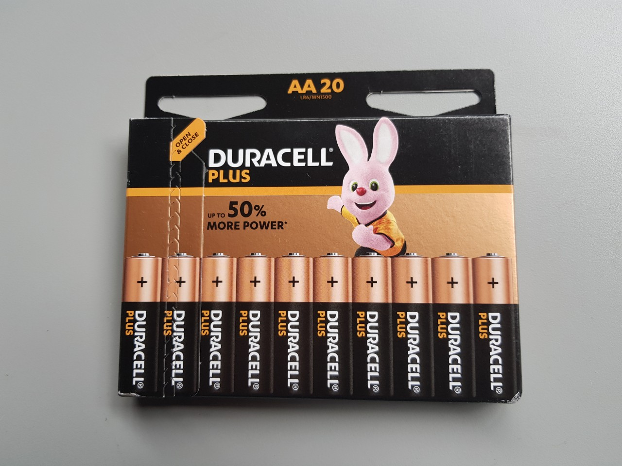 Batterijen aktiepakket