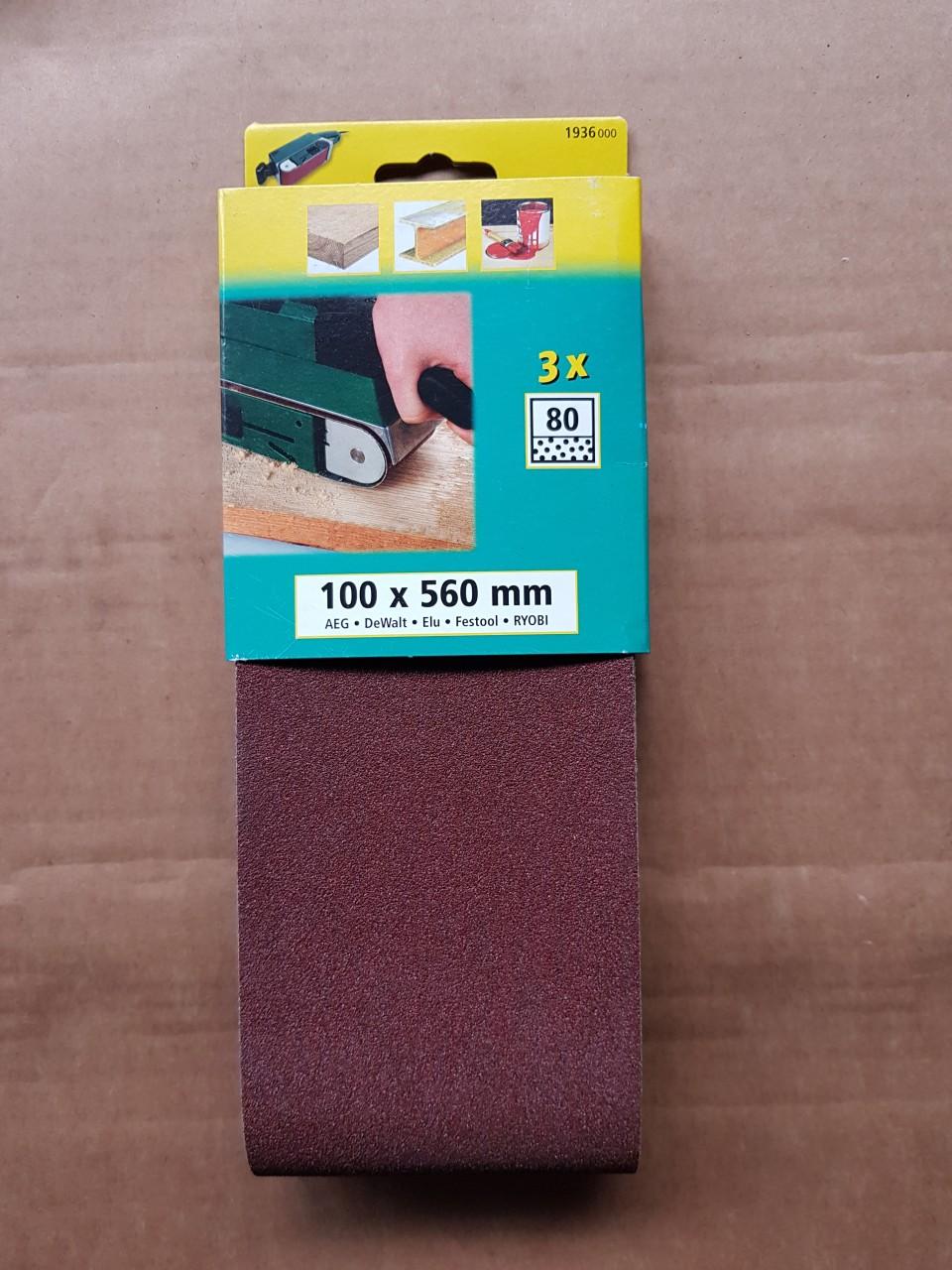 Wolfcraft schuurbanden 100x560 Wolfcraft schuurbanden 100x560