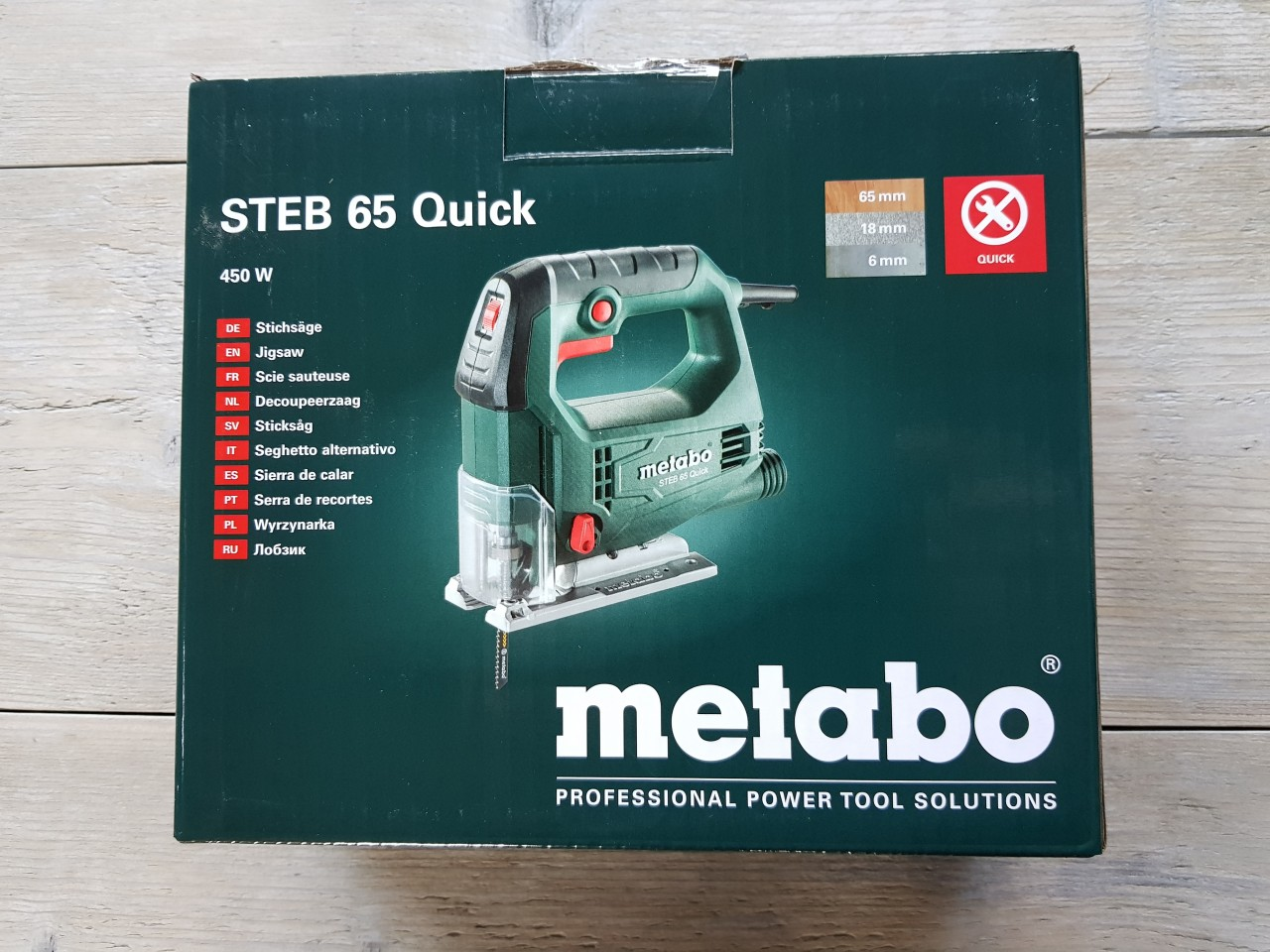 Metabo decoupeerzaag STEB 65 Quick Metabo decoupeerzaag STEB 65 Quick