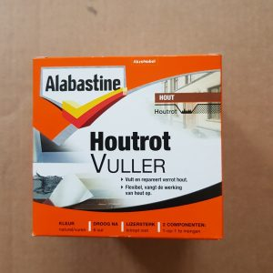 Alabastine houtrotvuller 500 gr. 2 componenten